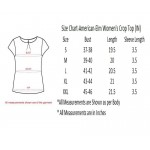 American-Elm Women Round Neck Plain Cotton Round Neck Short Top