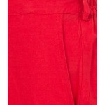American-Elm Women Red Cotton Pants